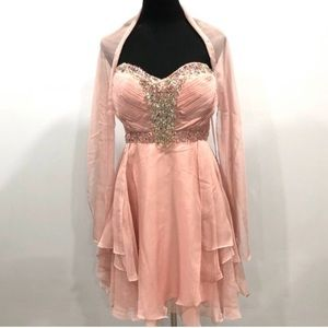 BNWT May Queen fit & flare dress